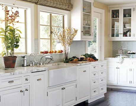 White Kitchen Cabinets white kitchen cabinets ideas with round lamps and simple cabinet Painted White Kitchen Cabinets