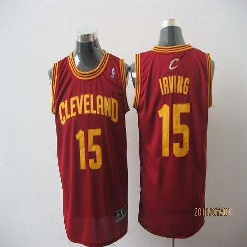Cavaliers  15 Kyrie Irving Red Revolution 30 Stitched NBA Jersey ... ca3b5926e