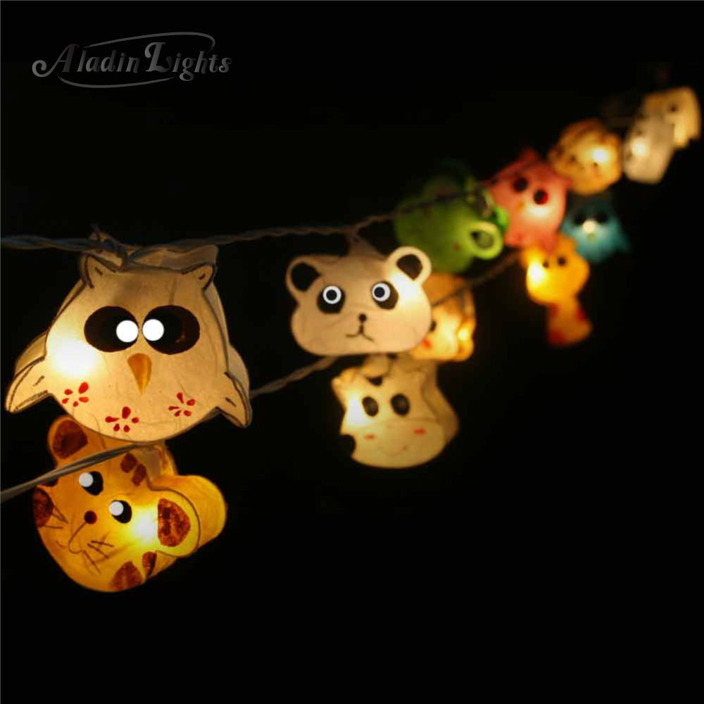Great night lamps - Details About Gaiashine Zoo Mix Animals String Lights Fairy Kid S Room Night Light Lamps Us