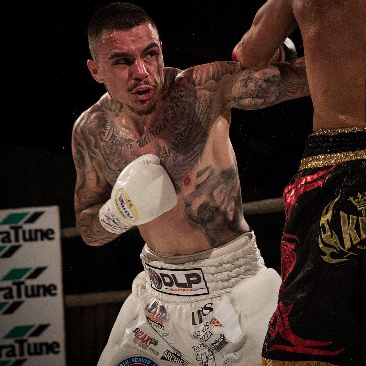 Australian Sensation George Kambosos Jr Makes U S Debut Tonight On Dibella Card Boxing News Bout Foxwoods