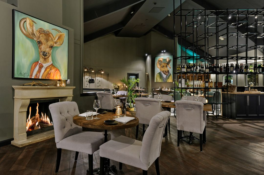 Bistro Barbizon Restaurant interior styled by Bocx Interiors ...