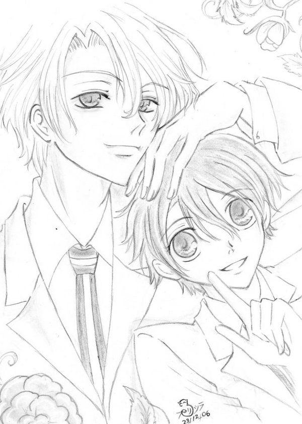 TaMaki y HaruhI by Purishira-chan.deviantart.com on