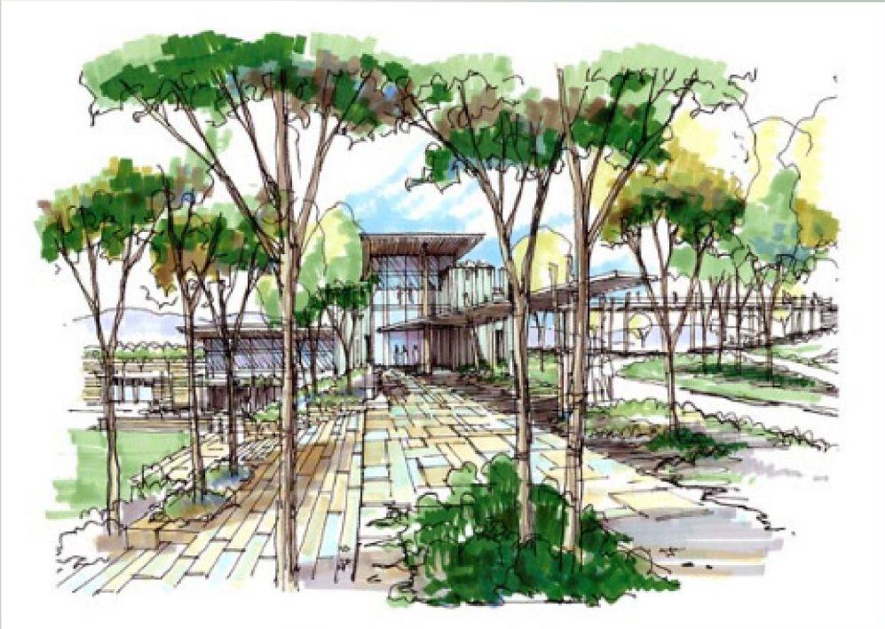 Google image result for for Landscape design sketches