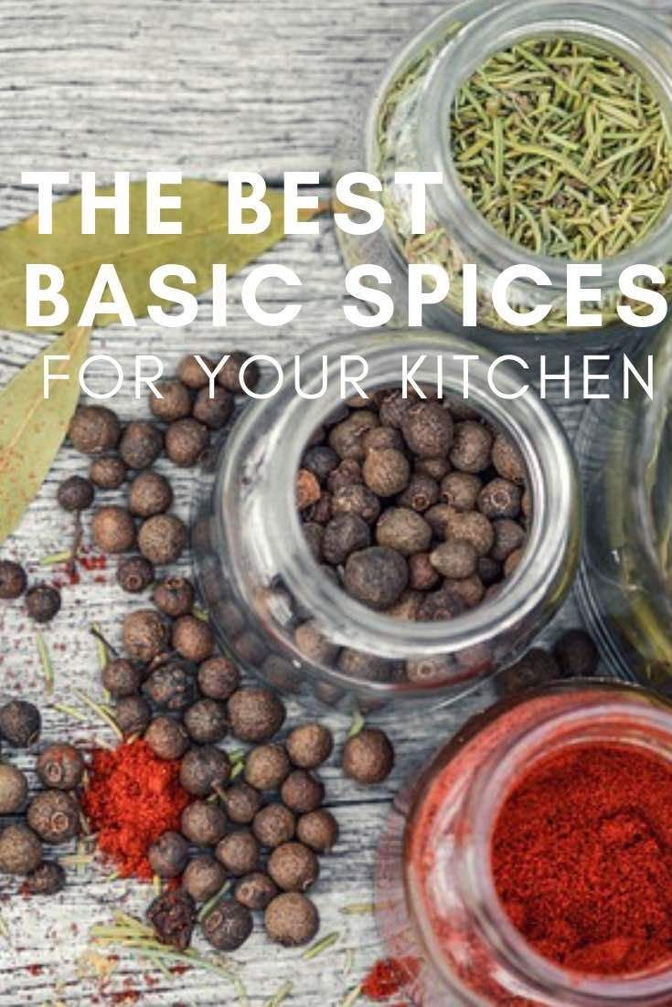 The Best Basic Spices for Your Kitchen | Diy | Spices online