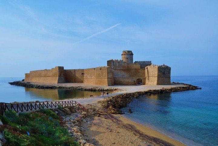 La fortezza aragonese di Le Castella, Isola di Capo