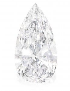 A 75 carat diamond is headed to auction at Sotheby's April 17th!
