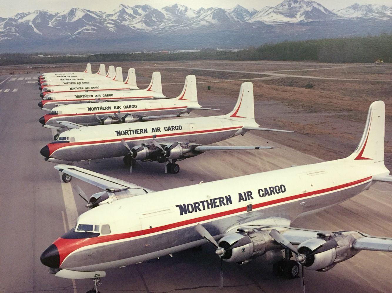 The last large fleet of Douglas C118/ DC6 belonged to