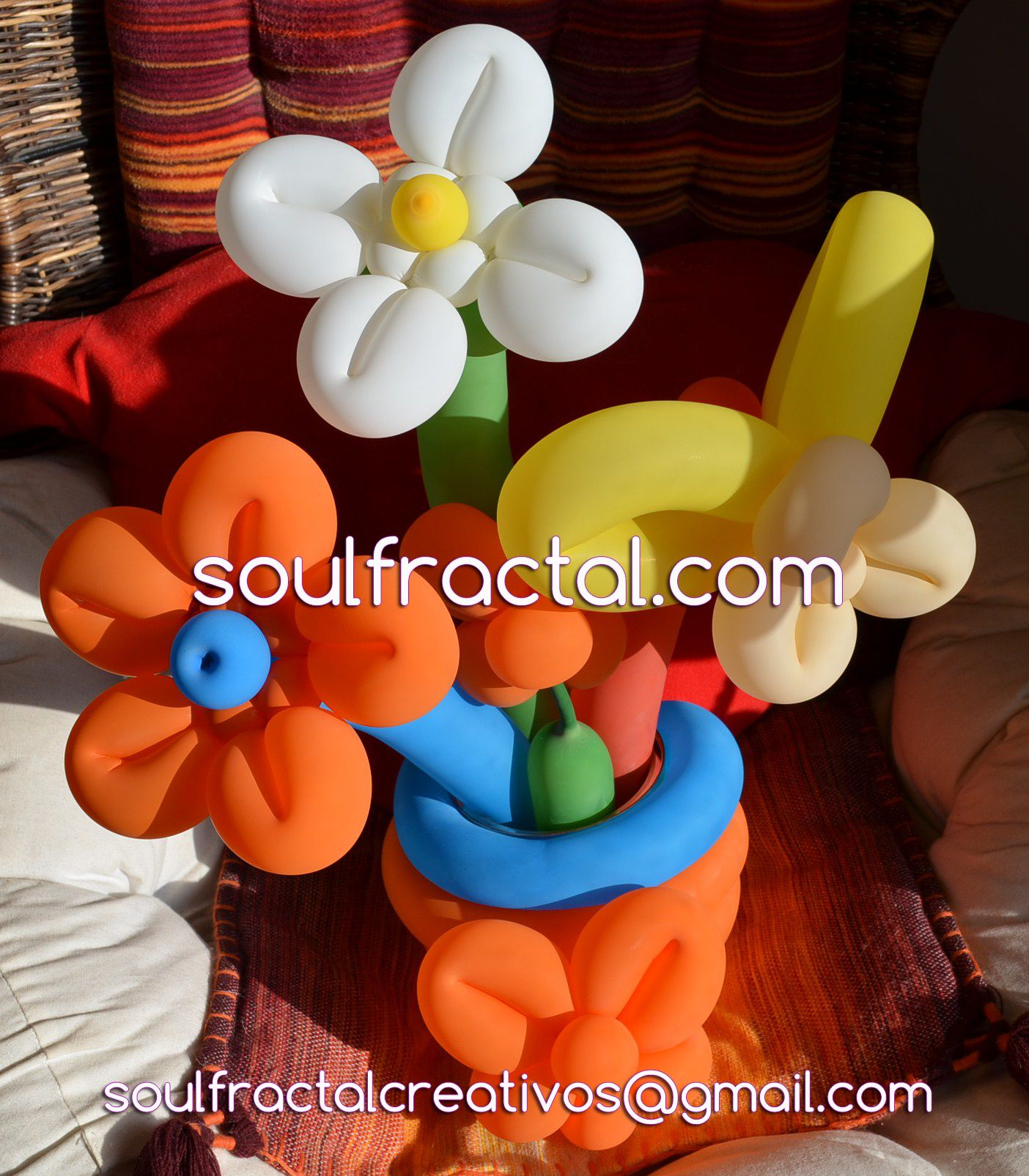 #Arte con #Globos Soul Fractal  ¿Quienes somos? ❥ Aquí nos tenéis ツღ .> https://soulfractal.com/quienes-somos/   ツ Síguenos en:  ✿ Web:  https://www.soulfractal.com  ✿ Facebook:  https://www.facebook.com/soulfractal/  ✿ Twitter: https://twitter.com/SoulFractal2015 ✿ Instagram : https://www.instagram.com/soulfractal/  ✿ YouTube: https://www.youtube.com/channel/UCTYFXZXYPsLGAuaAPPQr3_g  ✿ G+: https://plus.google.com/collections/yours  #Decoración #Creatividad #Art #Globoflexia #Decoracion