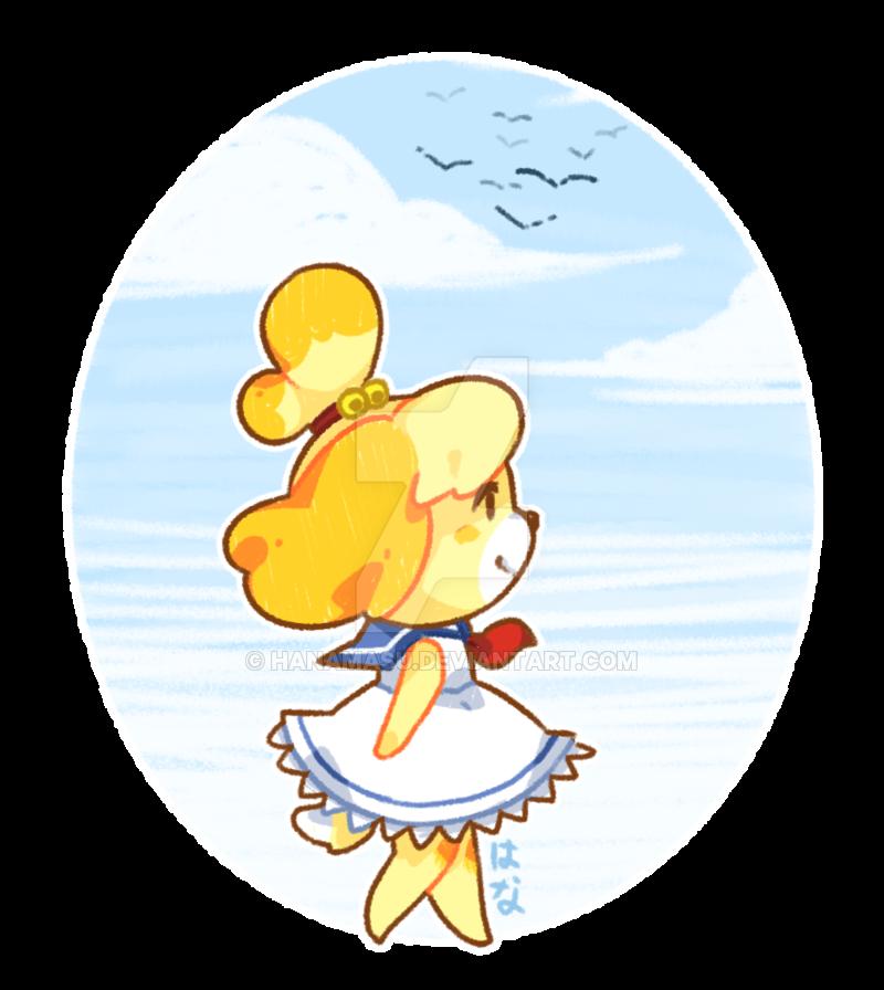 Isabelle. Animal crossing game, Animal crossing fan art