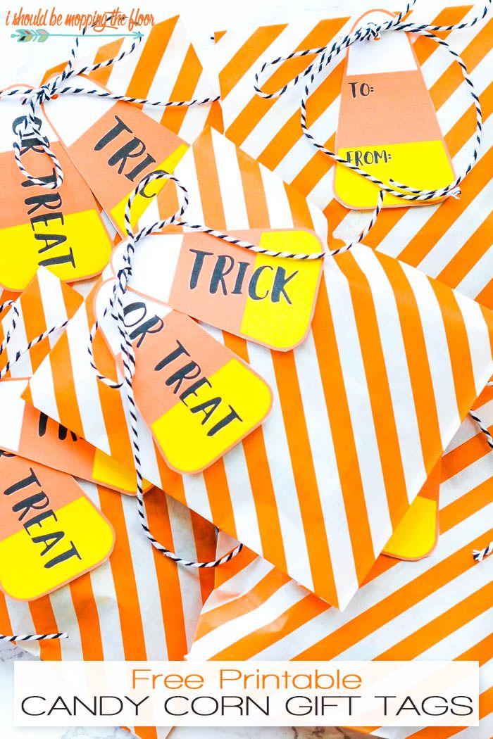Free Printable Candy Corn Gift Tags Printable Halloween Tags Halloween Tags Halloween Printables Free