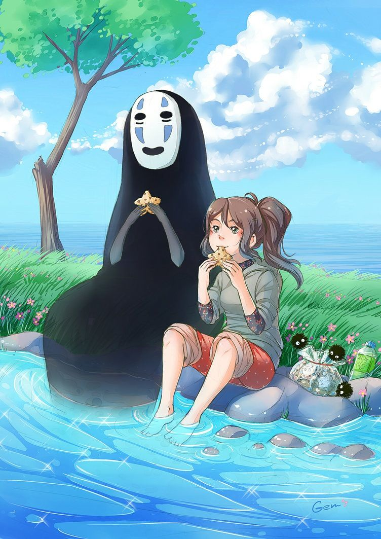 Ghim của Aleighcia Aragon trên Studio Ghibli Anime, Nghệ