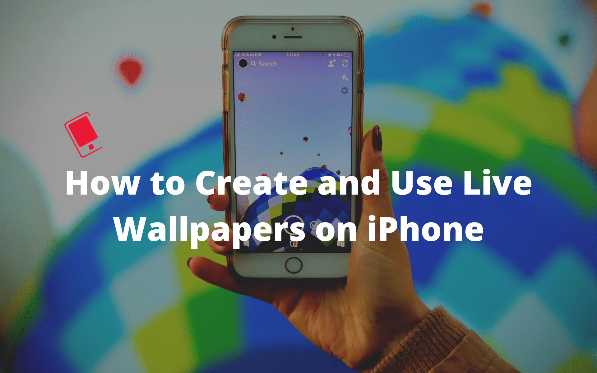 How To Create And Use Live Wallpapers On Iphone With This Cool Trick Live Wallpapers Iphone Photo Apps