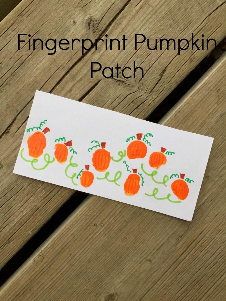 Fingerprint Pumpkin Patch \u2014 Candid Mama Life \u2026 Pinteres\u2026