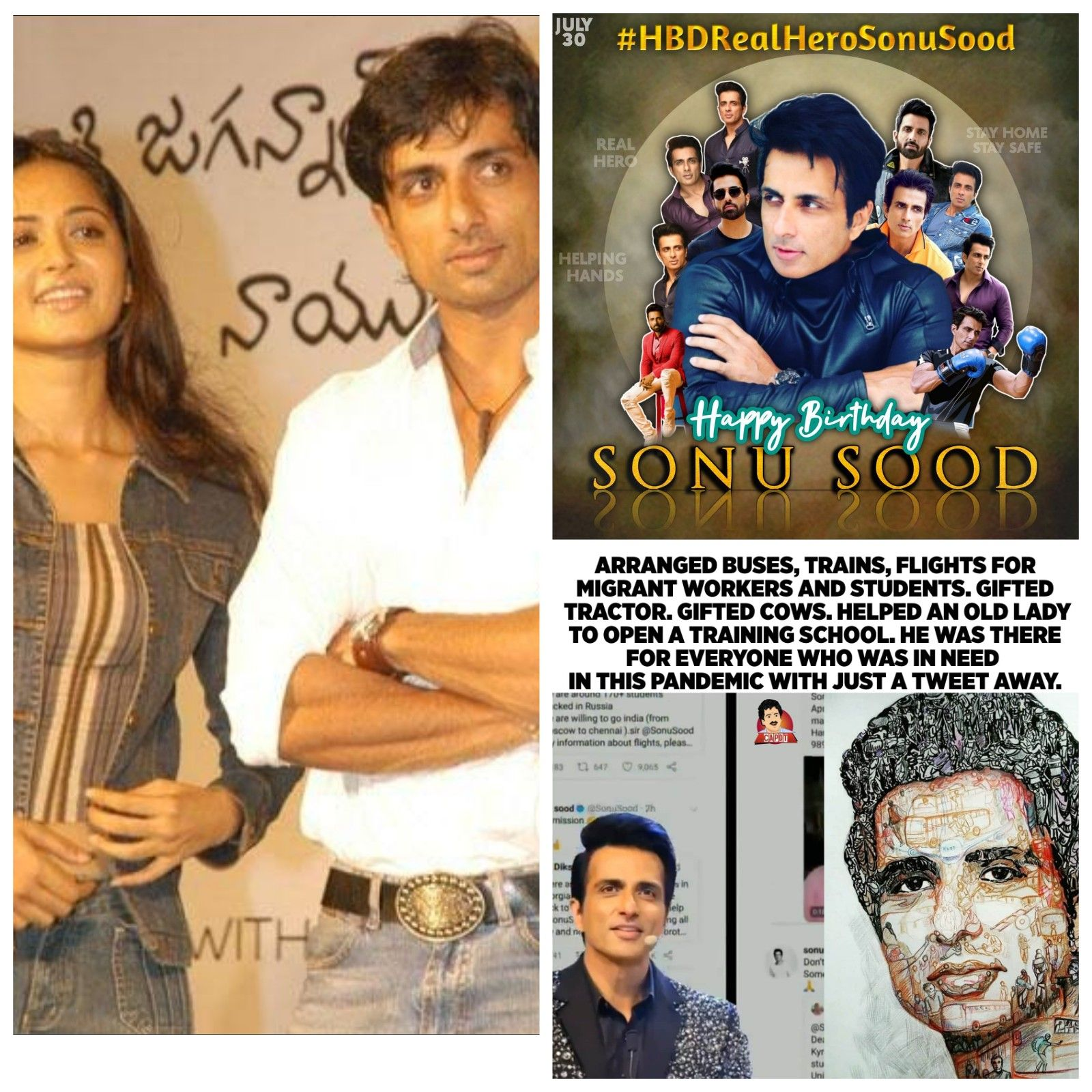 Happy birthday sonu sood from anushka shetty fans