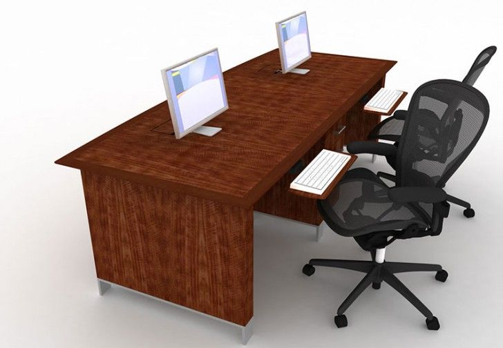 Two Person Computer Desk Home Office It Will Inspire You Workstation Chair