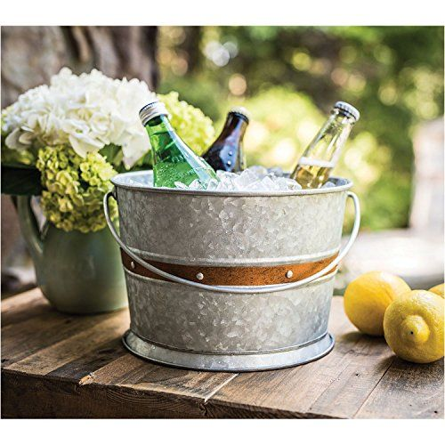 Ice Cold Drink Container Metal Stand Set Chalkboard Outdoor Server Glass Beverage Dispenser with Fruit Infuser 1 Gallon Stainless Steel Spigot