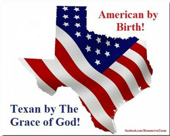 The only state in the union as all Us Texans see it.