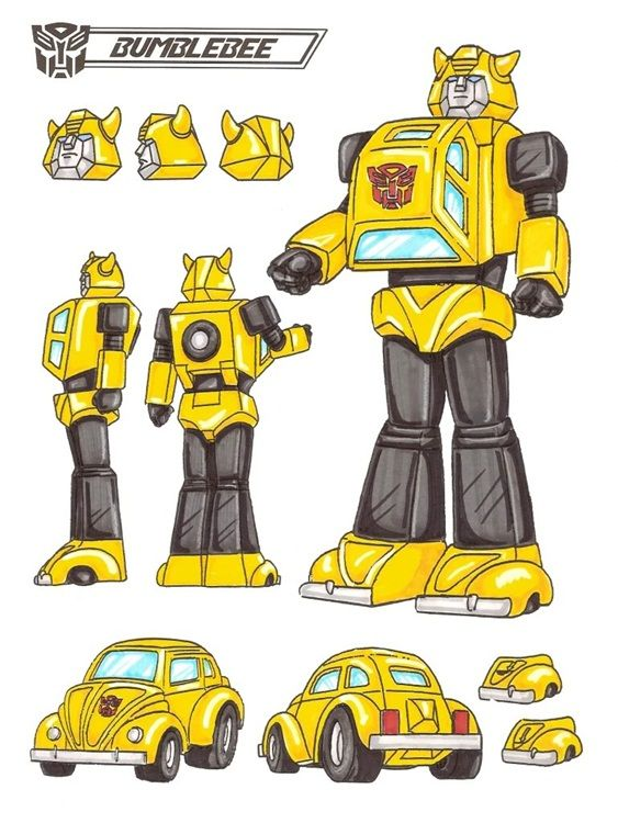 the real bumblebee