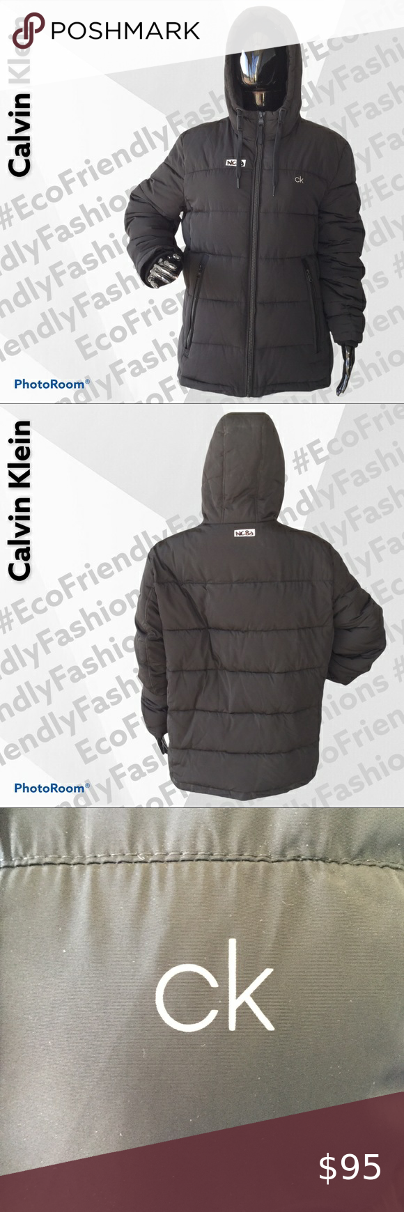Calvin Klein Men S Hooded Puffer Jacket Mens Hooded Mens Puffer Jacket Calvin [ 1740 x 580 Pixel ]