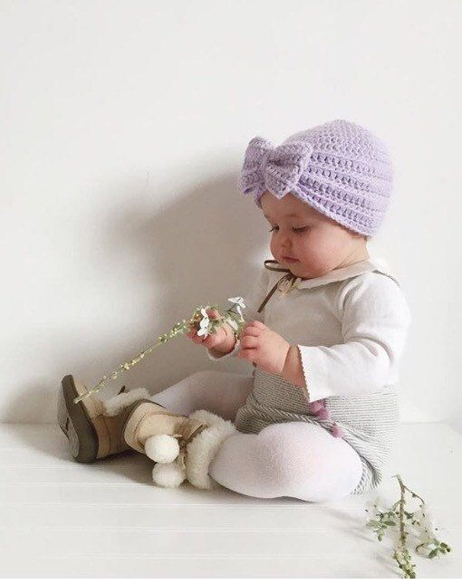 Photo of Turban Bow Hat ⨯ Turban Beanie ⨯ Baby Girl Fall Outfit ⨯ Fall Hat ⨯ Baby Shower Gift ⨯ Newborn Gift ⨯ Winter Baby Outfit ⨯ Winter Baby Hat