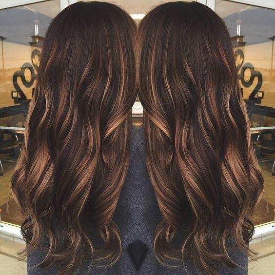Warm Caramel Tones Mocha Hair Hair Styles Mocha Color Hair