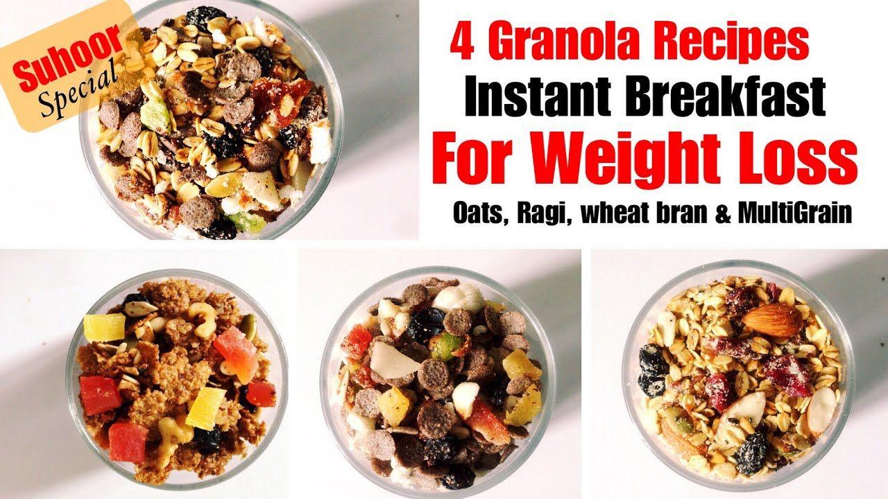 Homemade Granola Recipe | 4 Ways | How to make Granola