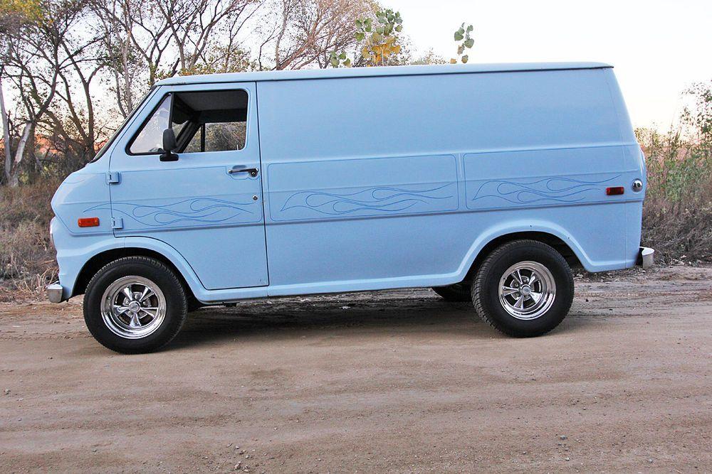 ford e series van vanin vans custom vans vintage vans. Black Bedroom Furniture Sets. Home Design Ideas