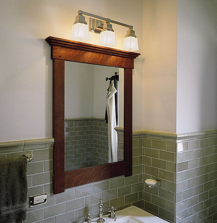 Oak park interior lighting portfolio shed bathroom pinterest bathroom lights mounted on mirror mozeypictures Image collections