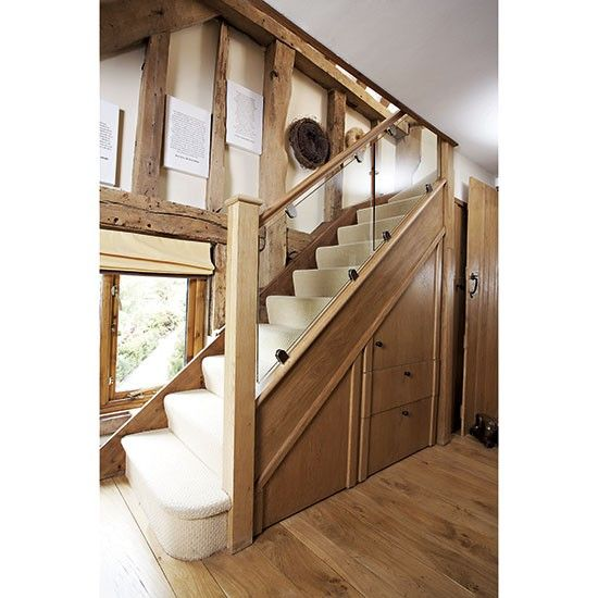 Country Staircases Glass Staircase Staircase Contemporary Staircase Design