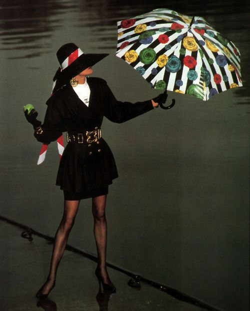 Chanel, Elle magazine, March 1988.