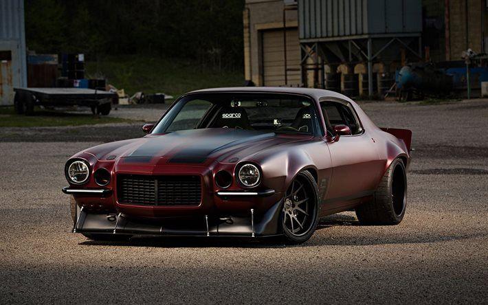 Chevrolet Camaro Muscle Cars Cars Custom Tuning Retro