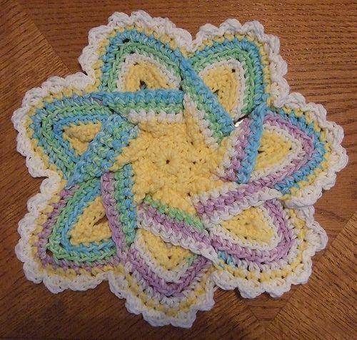 Free Crochet Hot Pad Patterns Hot Pad Hot Pads Pinterest