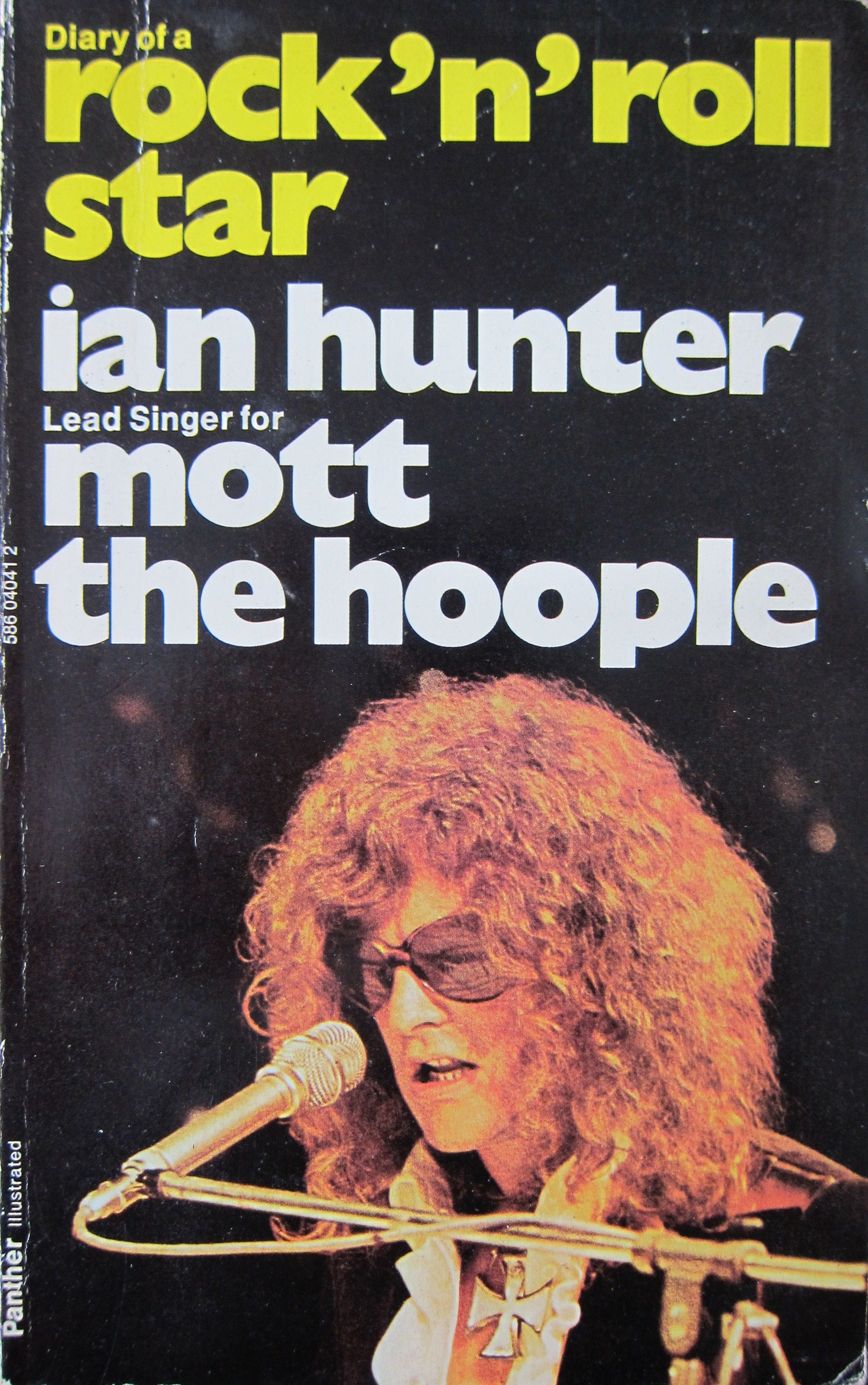 Diary of a rock n roll star Ian Hunter cover