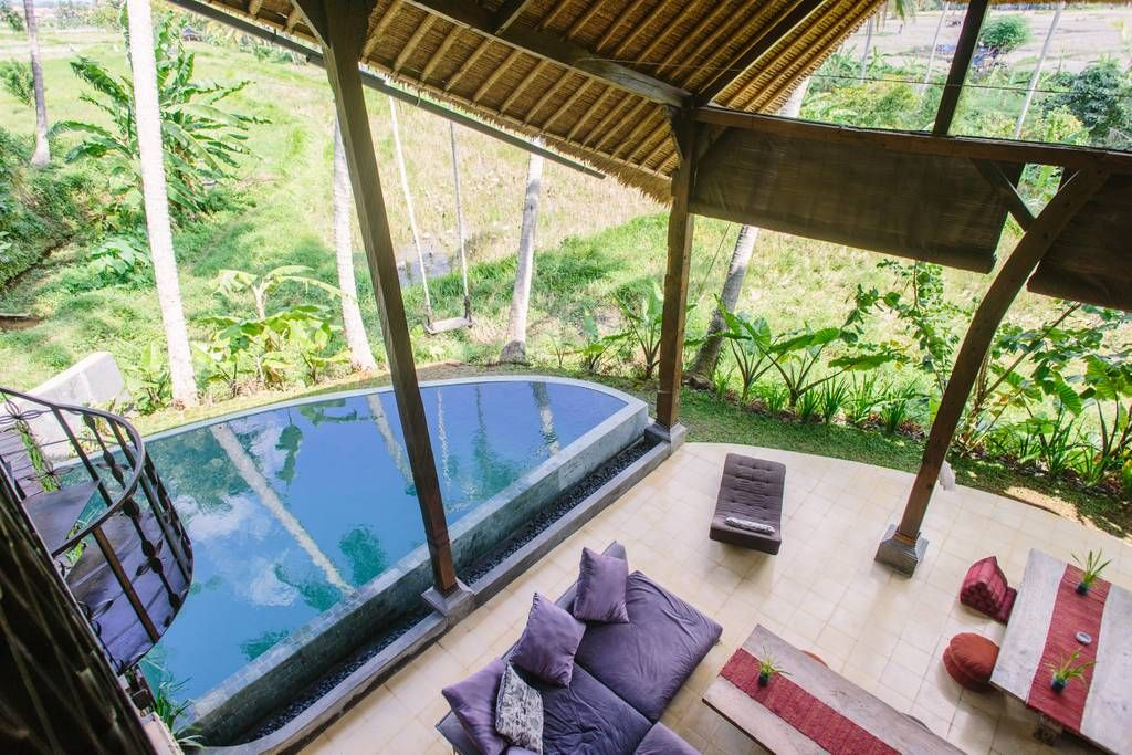 Eco rice paddy retreatred room Bed and breakfasts for
