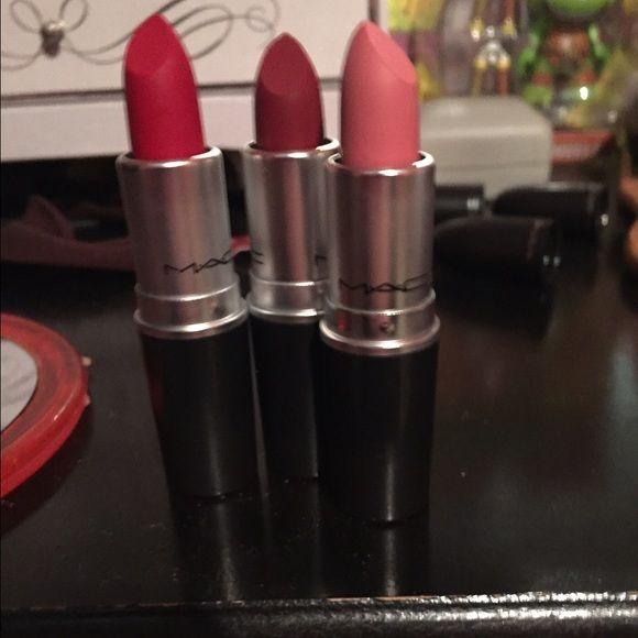 MAC Please Me Lipstick Bundle | Cosmetify