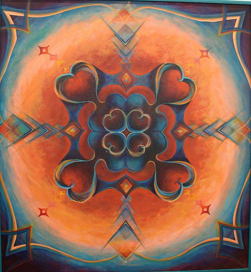 Love Mandala by Morgan Mandala Manley