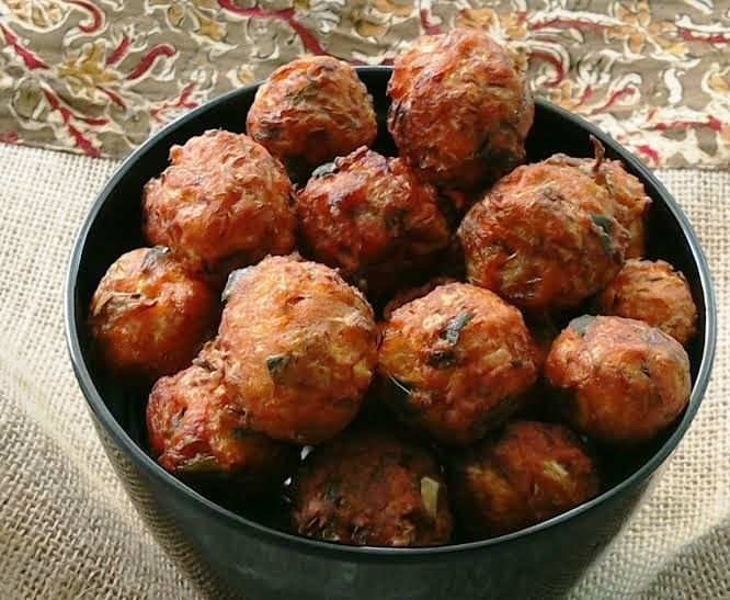Spicy Cabbage Balls Indian Snacks Indian Food Recipes Recipes