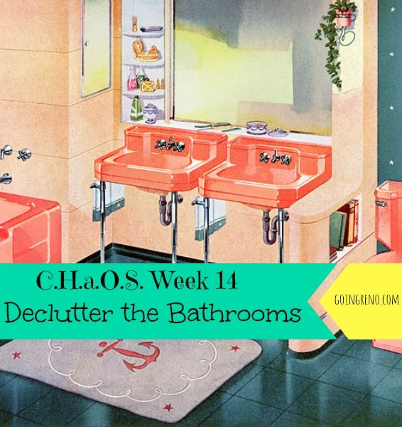 Week 14 Of C.H.a.O.S. Is All About Decluttering The