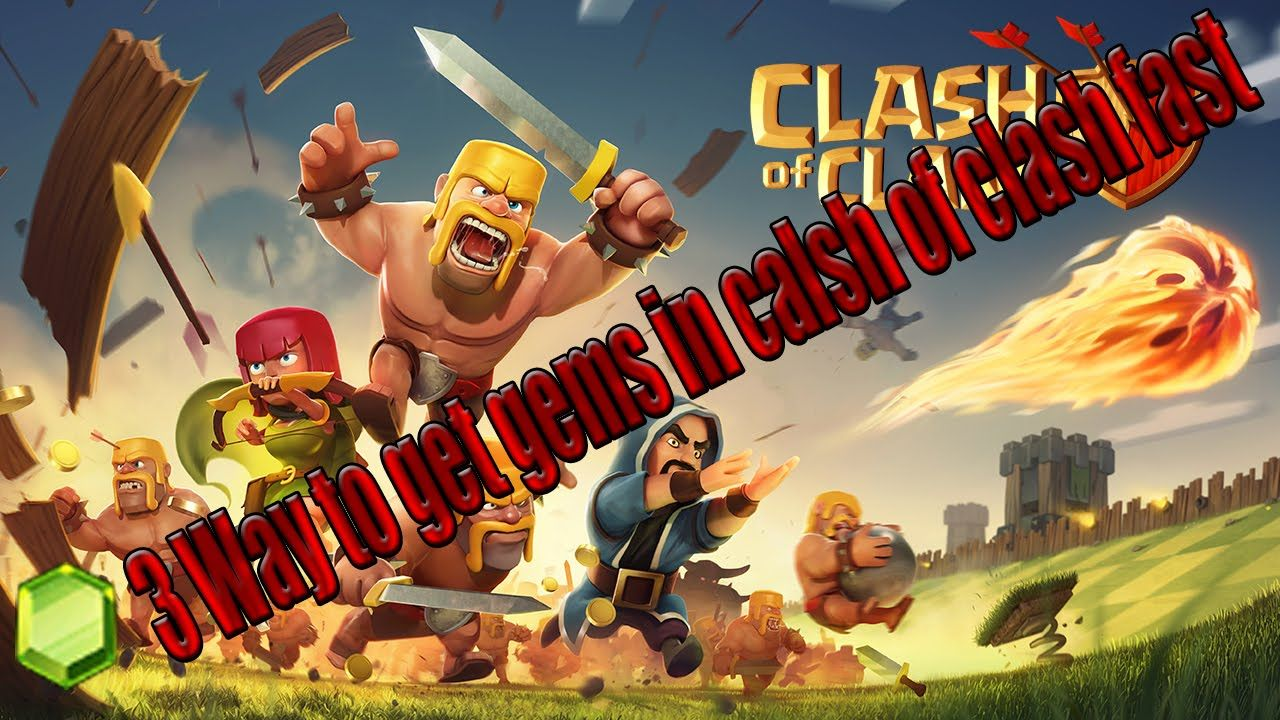 3 Ways on How To Get Gems in Clash of Clans Fast | My