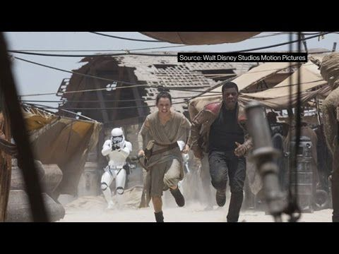 'Star Wars' Sets Record Crossing $1 Billion in Sales - YouTube
