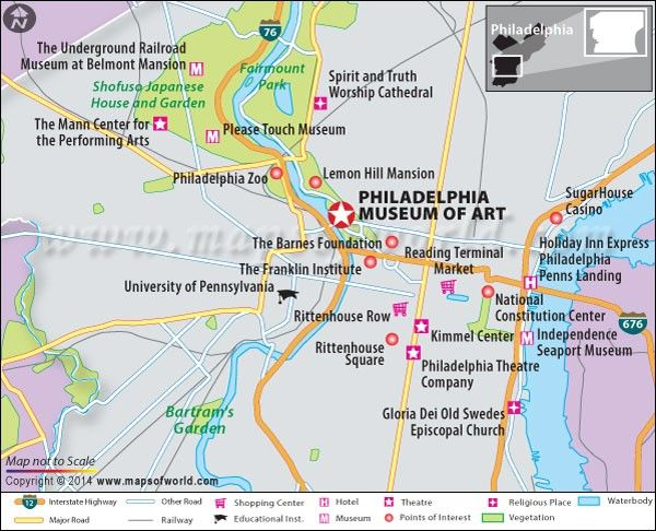 Philadelphia Museum of Art US Map Facts Location Best time to
