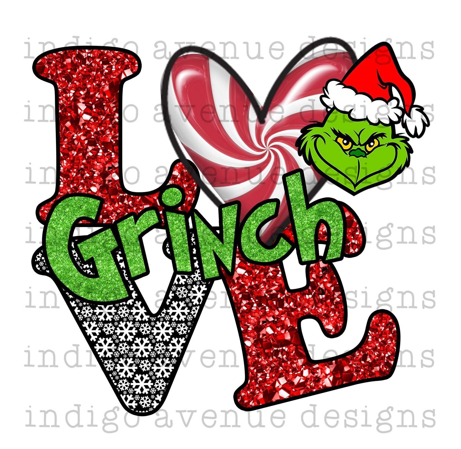 The Grinch File Digital Download I Hate People Grinch Lover Gifts Sublimation Design Grinch Hate People PNG