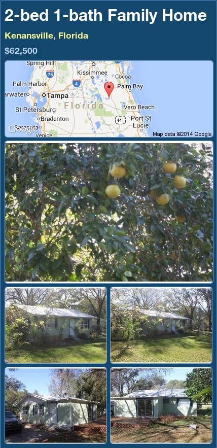 Kenansville Florida Map.2 Bed 1 Bath Family Home In Kenansville Florida 62 500