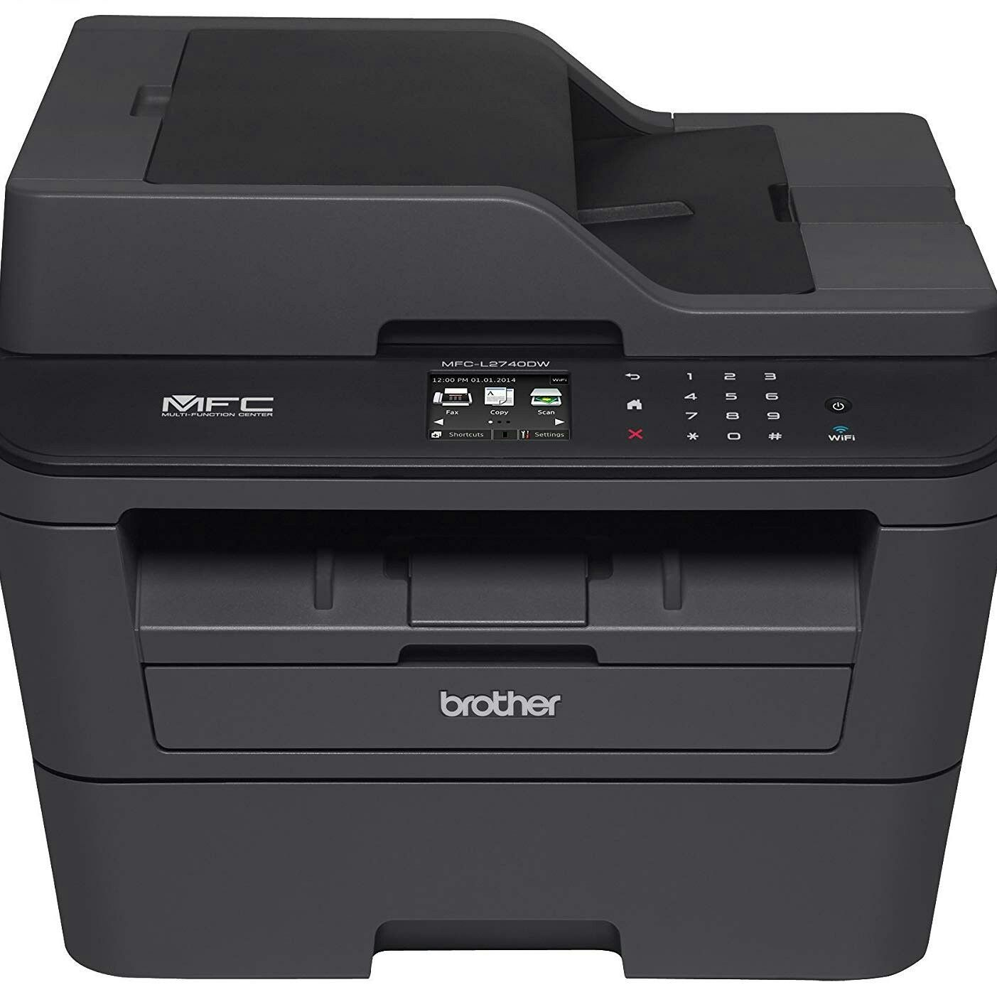 Brother Printer MFCL2740DW Wireless Monochrome Printer