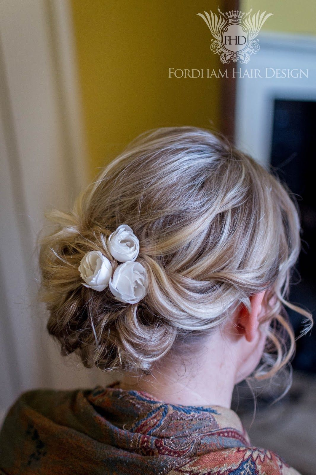Wedding hair accessories gloucestershire - Boho Bridal Hair Style At Elmore Court Wedding Gloucestershire Fordham Hair Design