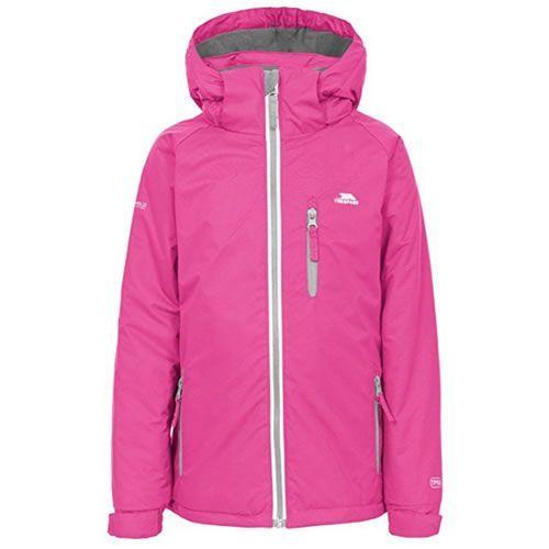 18bbdd769 Trespass Cornell II Kids Waterproof Jacket Fushsia Help them make ...