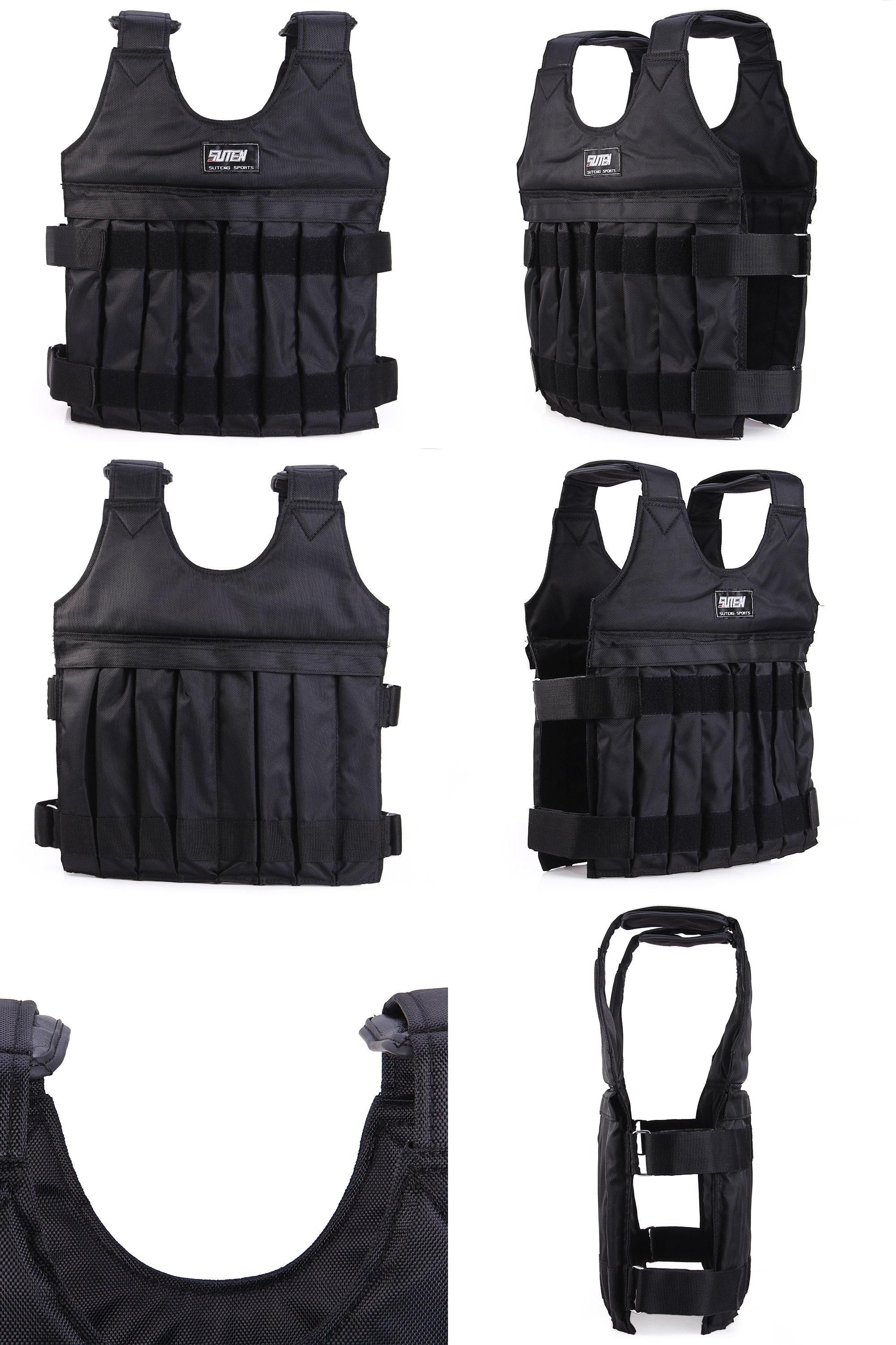 46199811f2b  Visit to Buy  SUTEN 10kg Max Adjustable Weight Jacket Weighted Vest  Exercise Fitness Boxing Training Waistcoat Invisible Weight Vest 2016 New    ...