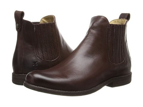 Travel shoe: Frye Phillip Chelsea Black Soft Vintage Leather - Zappos.com Free Shipping BOTH Ways