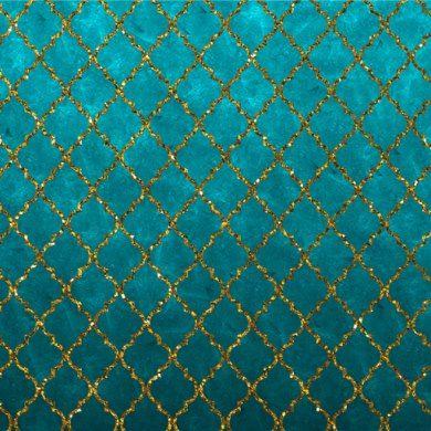 Stylish Turquoise Gold Quatrefoil Glitter Print Wrapping Paper Zazzle Com In 2021 Glitter Print Turquoise Wallpaper Print Wrapping Paper