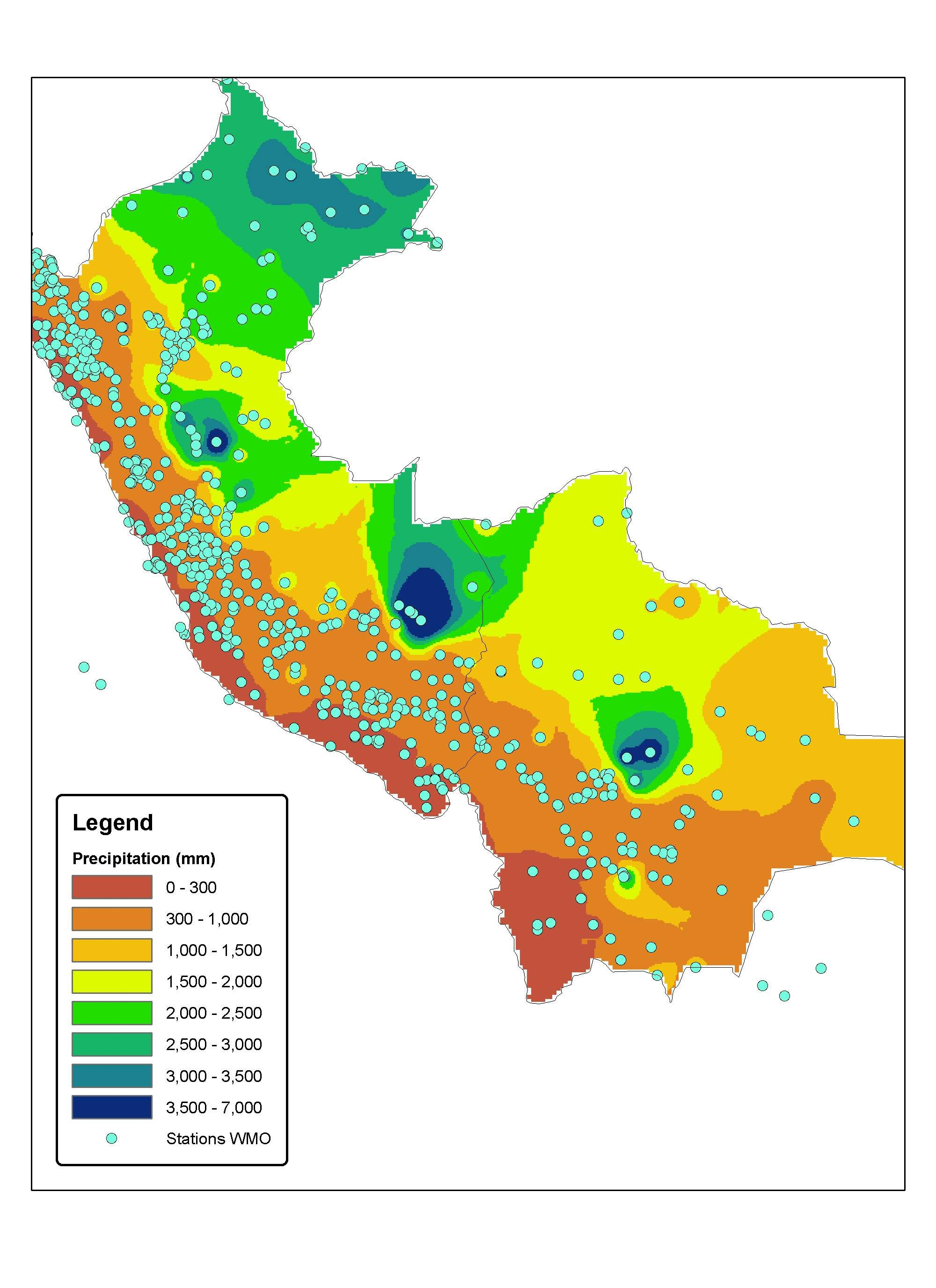 Peru Weather Map.This Is Peru S Climate Map Peru Has Three Different Climate Zones